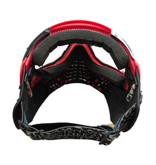 Used HK KLR Paintball Mask - Red