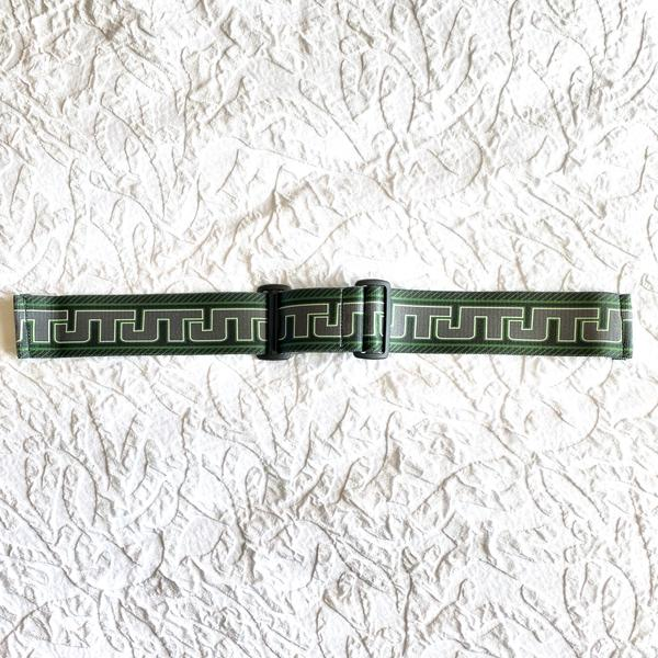KM JT Universal Mask Strap - Retro Green/Purple