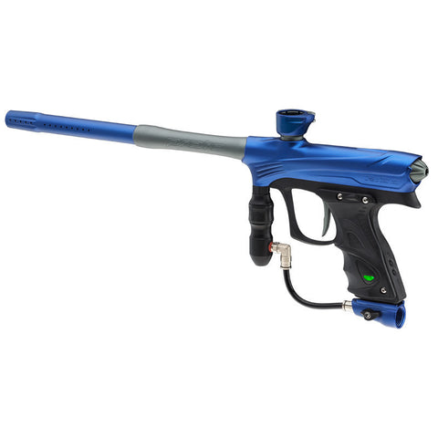 DYE Rize Maxxed Paintball Gun   Blue with Gray