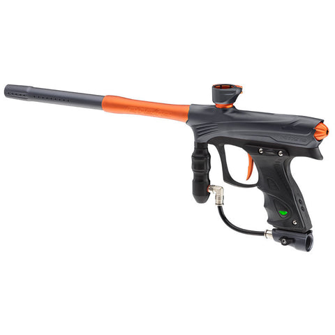 DYE Rize Maxxed Paintball Gun   Gray with Orange