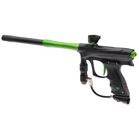 DYE Rize Maxxed Paintball Gun - Black with Lime