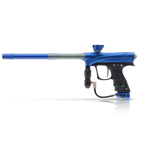 DYE Rize Maxxed Paintball Gun - Blue with Gray