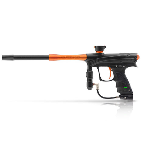 DYE Rize Maxxed Paintball Gun   Black with Orange