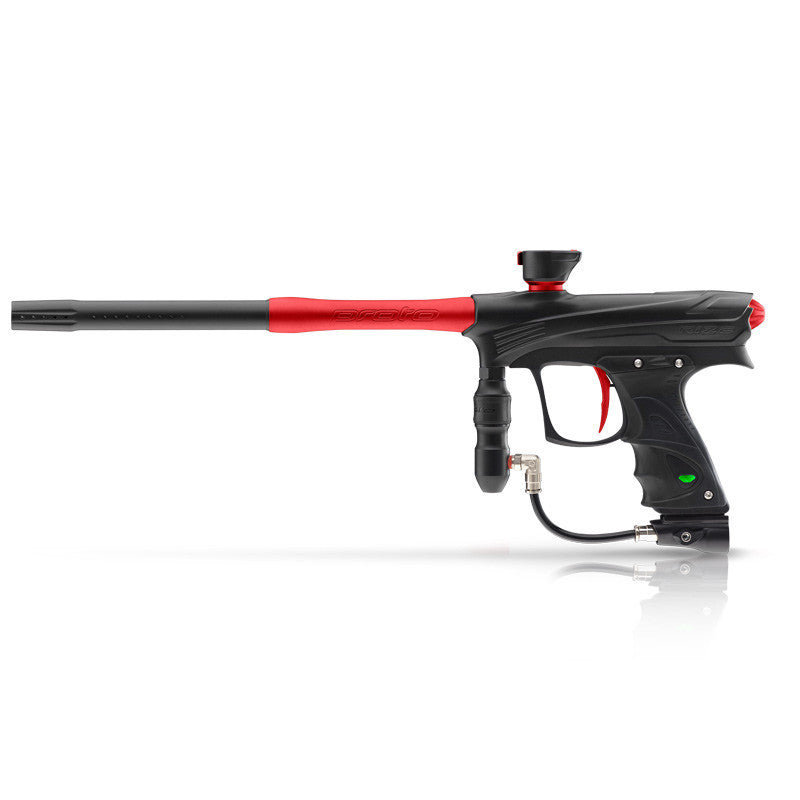 DYE Rize Maxxed Paintball Gun - Black with Red