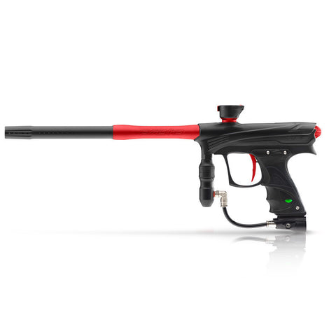 DYE Rize Maxxed Paintball Gun   Black with Red