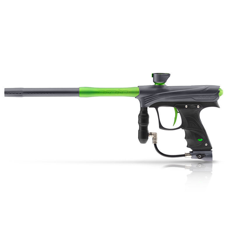 DYE Rize Maxxed Paintball Gun   Gray Lime
