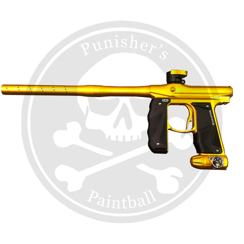Empire Paintball Mini GS Marker w/ 2 Piece Barrel - Dust Gold