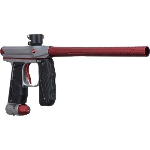 Empire Paintball Mini GS Paintball Marker - Dust Grey/Dark Red