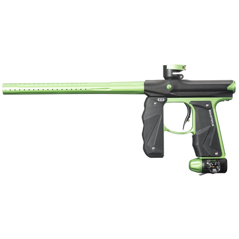 Empire Paintball Mini GS Paintball Marker - Black/Neon Green