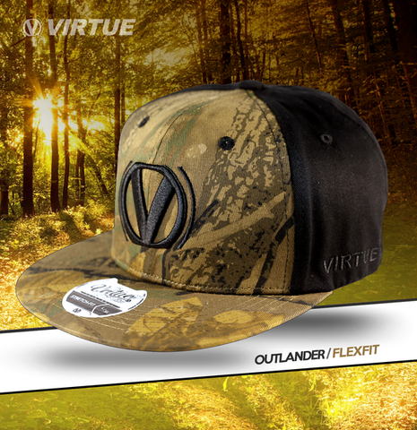 Virtue Highlander Fitted Hat - Mirkwood Camo / Black