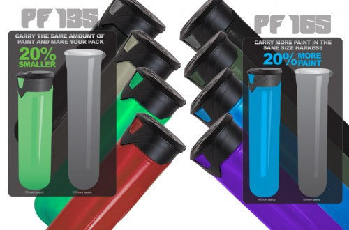 Virtue PF135 Paintball Pod 6 Pack