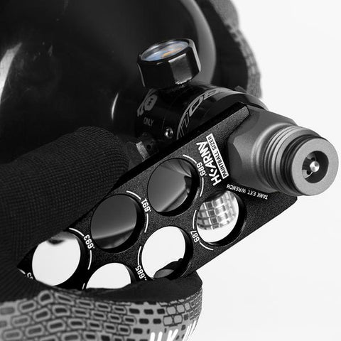 Paintball Sizer Guide - Black