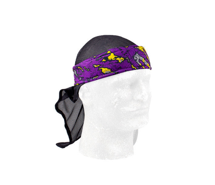 Poison Purple Headwrap