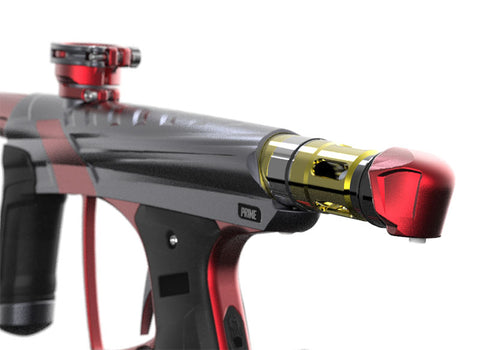 Macdev Prime XTS Paintball Gun - Cyclops (Grey/Red)