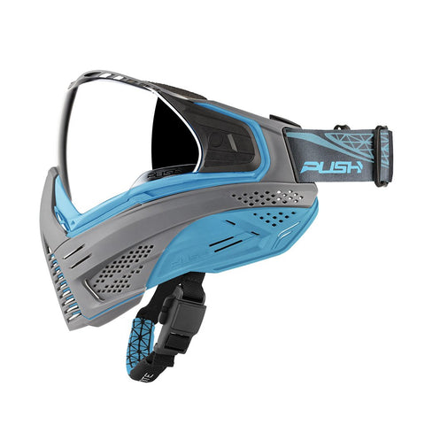 Push Unite Paintball Goggle - Grey / Blue