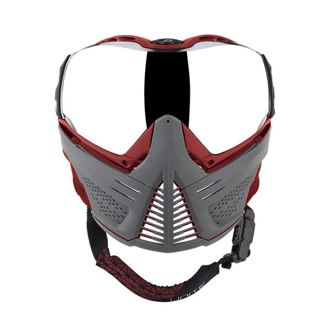 Push Unite Paintball Goggle - Grey / Red