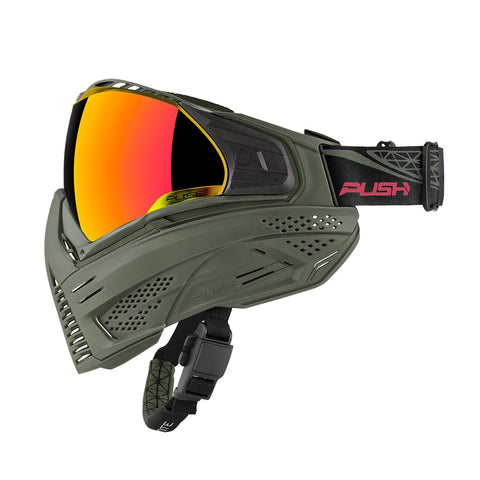 Push Unite Paintball Goggle - Olive