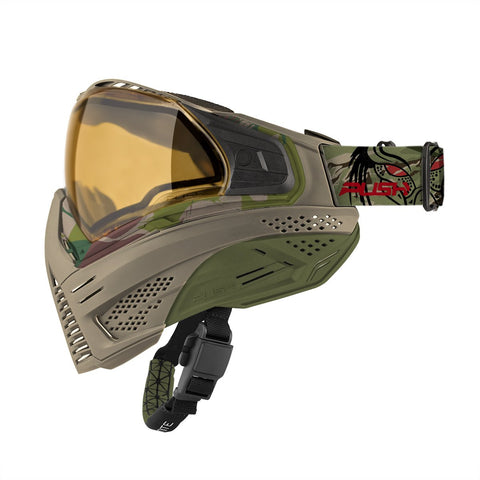Push Unite Paintball Goggle - Predator Tan Camo