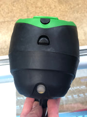 Used Dye LT-R Loader- Black with Lime Exalt Speed Feed