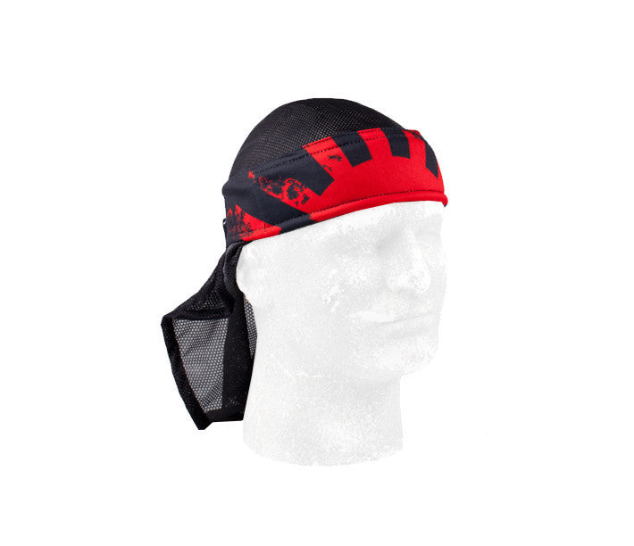 HK Army Rising Sun Black Headwrap