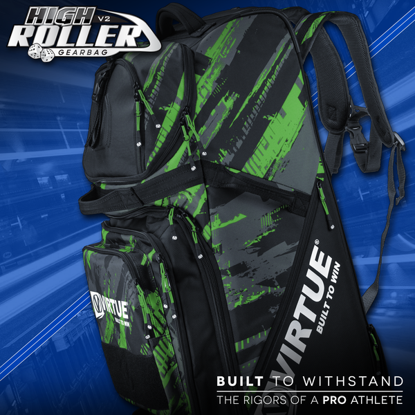 Virtue High Roller V2 Gear Bag - Graphic Lime
