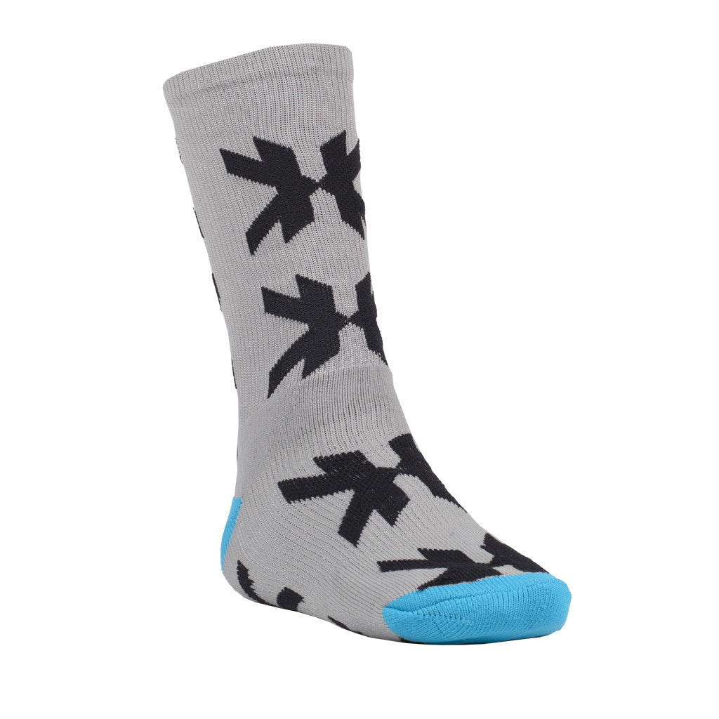 Speed Socks - Optic - Grey/Teal