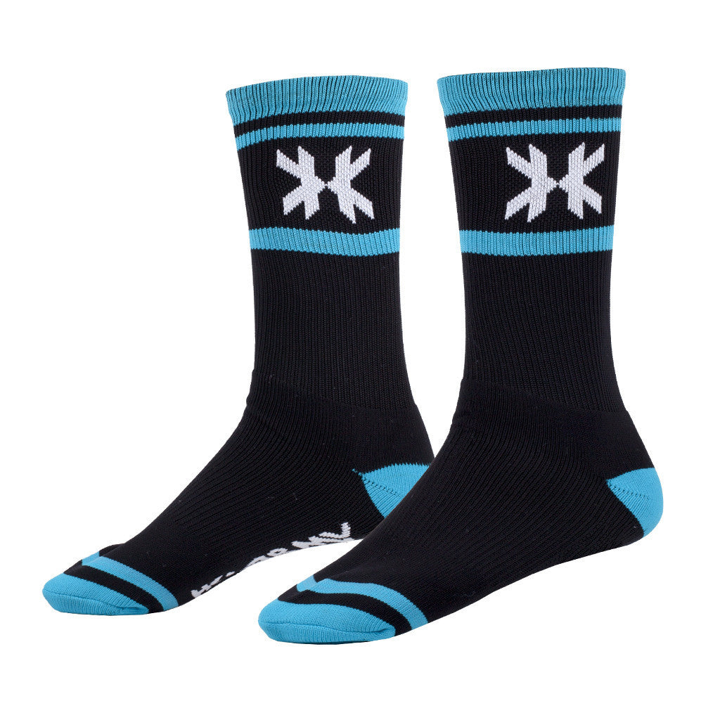 Speed Socks - Tracer - Black/Teal