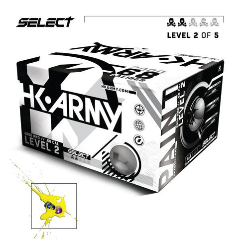 HK Army Select Paintballs - Level 2