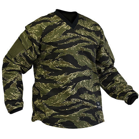 Sierra Combat Shirt - TigerStripe - Punishers Paintball