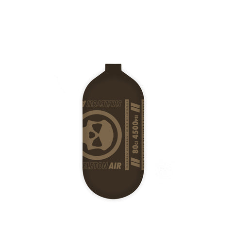 INFAMOUS AIR Hyperlight Paintball Tank - BOTTLE ONLY - Brown/Tan - 80CI / 4500PSI