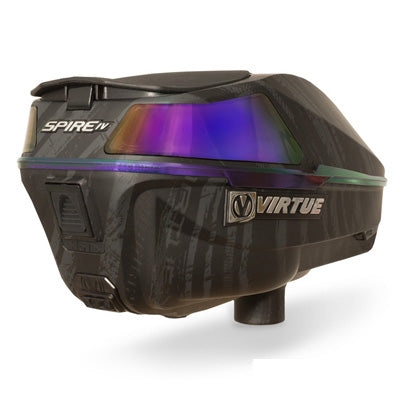 Virtue Spire 4 (IV) Paintball Loader - Graphic Black Amethyst