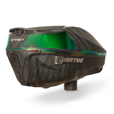 Virtue Spire 4 (IV) Paintball Loader - Graphic Black Emerald