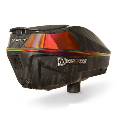Virtue Spire 4 (IV) Paintball Loader - Graphic Black Fire