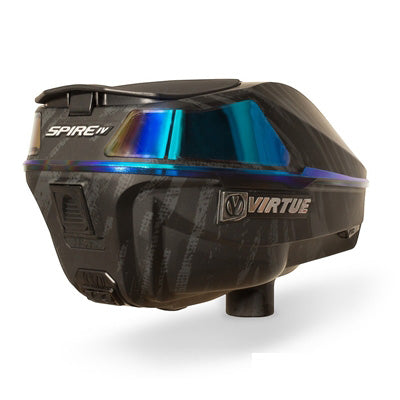 Virtue Spire 4 (IV) Paintball Loader - Graphic Black Ice
