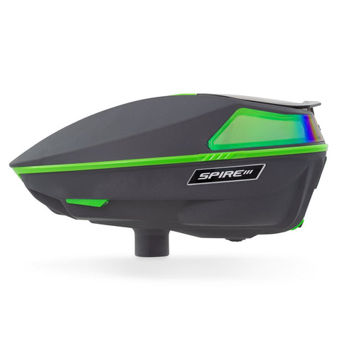 Virtue Spire 3 Paintball Loader - Emerald