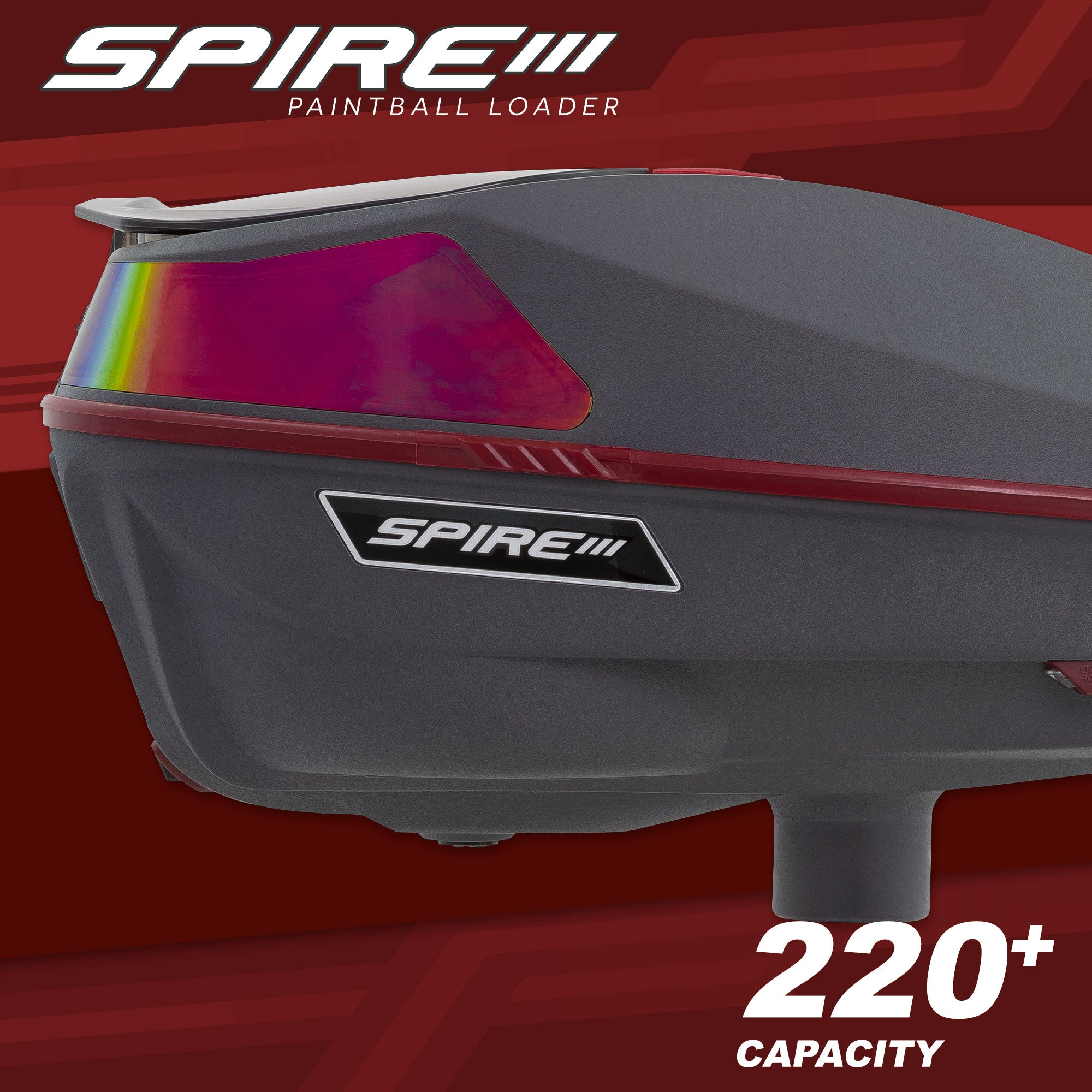 Virtue Spire 3 Paintball Loader - Fire