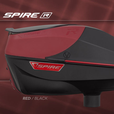 Virtue Spire IR Paintball Loader - Red/Black LIMITED EDITION