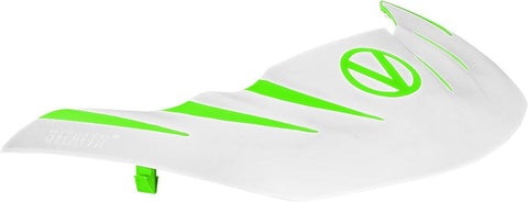 Virtue VIO Stealth Visor - White / Green