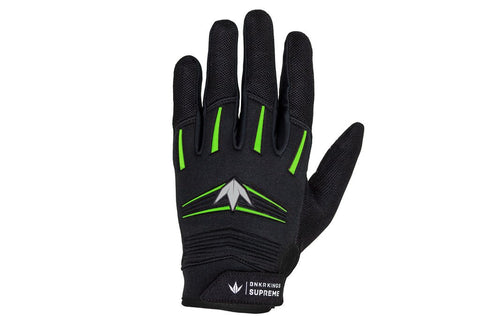 BNKR Bunkerkings Supreme Paintball Gloves - Lime