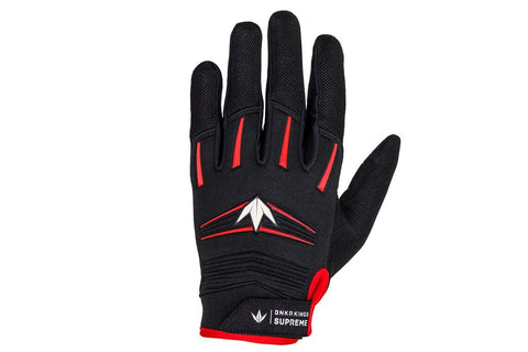 BNKR Bunkerkings Supreme Paintball Gloves - Red