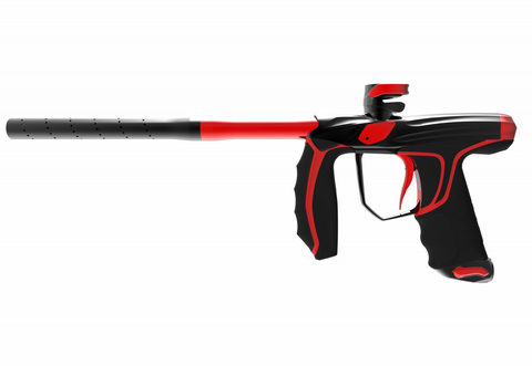 Empire Syx Paintball Marker Preorder - Polished Black / Polished Red