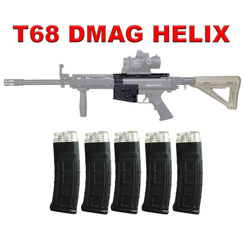 T68 DMAG Magazine Upgrade Package With 5 x HELIX