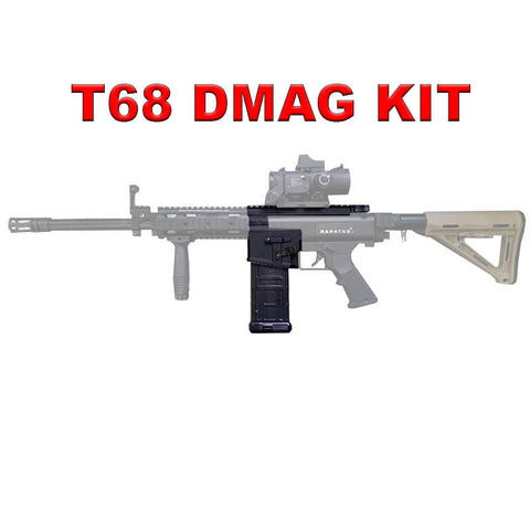 T68 DMAG Magazine Upgrade Package For Shaped Projectile and Paintball