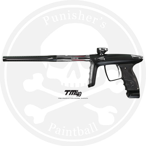 DLX Luxe TM40 Paintball Gun - Dust Black/Polished Silver