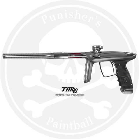 DLX Luxe TM40 Paintball Gun - Dust Pewter/Polished Silver