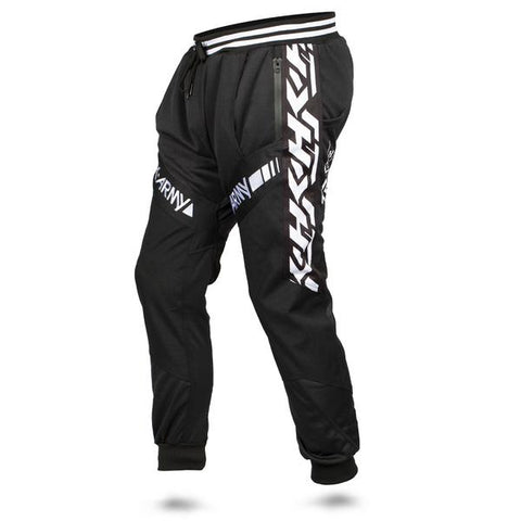 HK Army TRK Jogger Retro Stripe Pants - Black