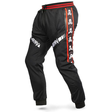 HK Army TRK Jogger Pants - HK Skull Red