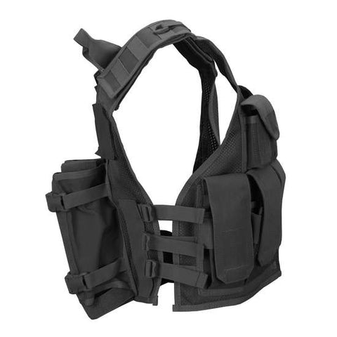 Tippmann Tactical Airsoft / MagFed Paintball Vest - Black