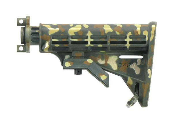 Carbine Butt Stock for A5 (Woodland) - Punishers Paintball