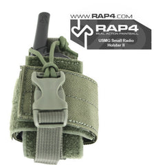BLACK Small Radio Holster - Punishers Paintball
